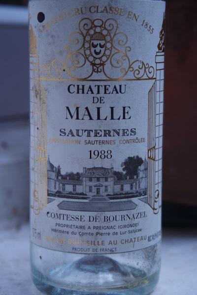 Chateau de Malle Sauternes