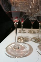 Glasses with Henschke Hill of Grace and Mount Edelstone 1994 in them