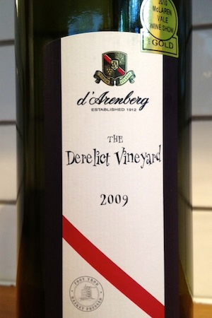 The Derelict Vineyard Grenache wine from D'arenberg