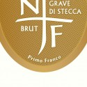 Label for an Italian sparkling wine by Nino Franco