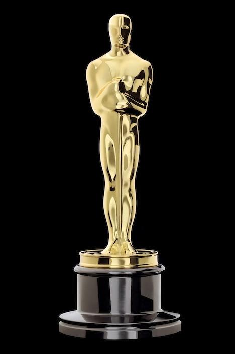 An Oscar statue