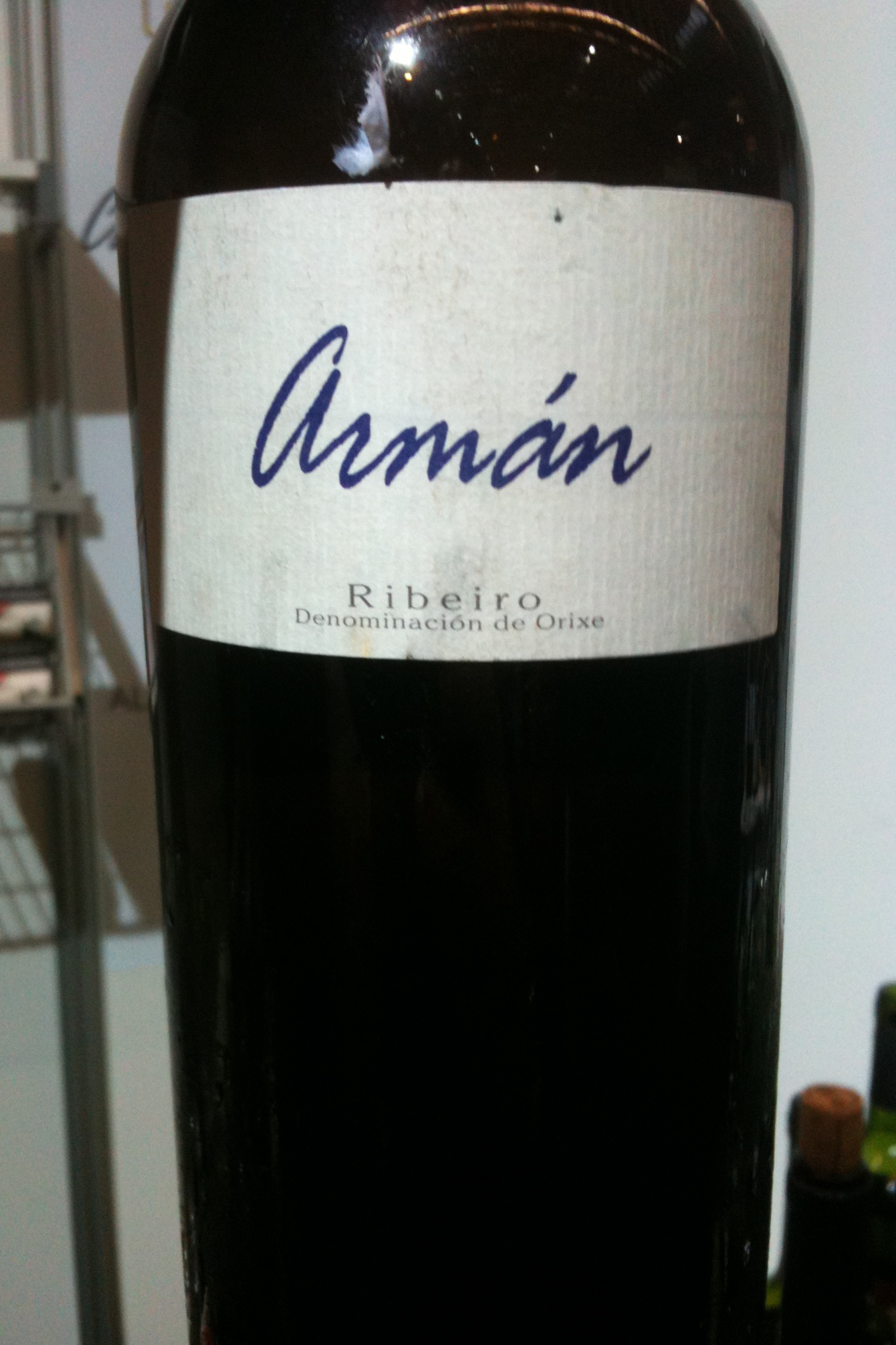 DO Ribeiro wine from Galicia in Spain