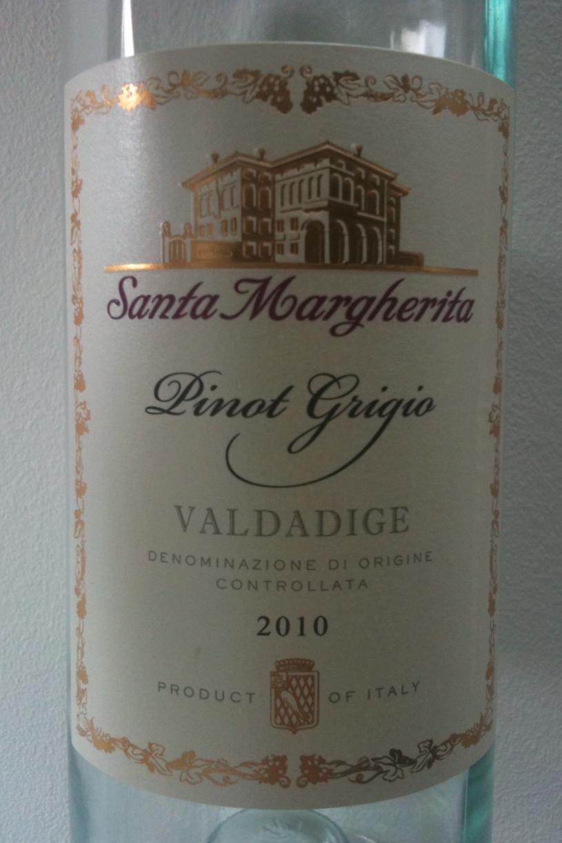 Santa Margherita Pinot Grigio 2010 from Valdadige, Italy