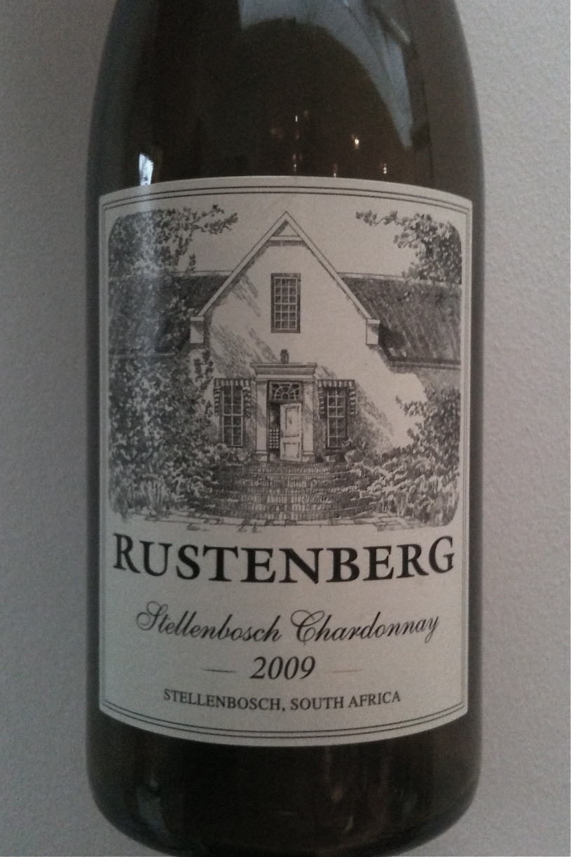 Rustenberg Chardonnay 2009 from Stellenbosch, South Africa